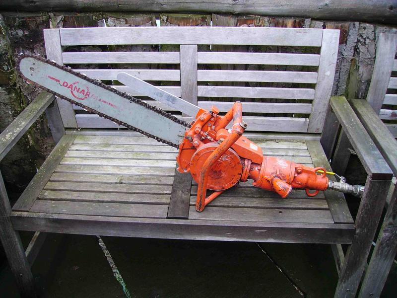Hydraulic Chainsaw Log Cutter Firewood Forum Arbtalk