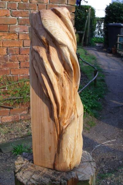 Shell abstract chainsaw carving forum arbtalk the