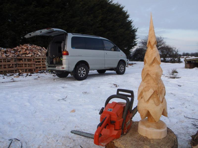 Festive carving chainsaw forum arbtalk the