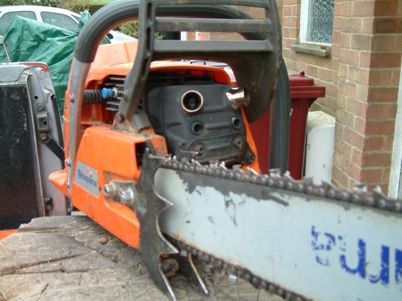 Saw modifications - Chainsaws - Arbtalk | The Social Network