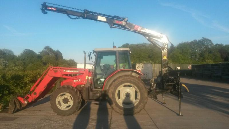 3 Point Tractor Crane : Looking for hiab crane on point linkage tractor thanks