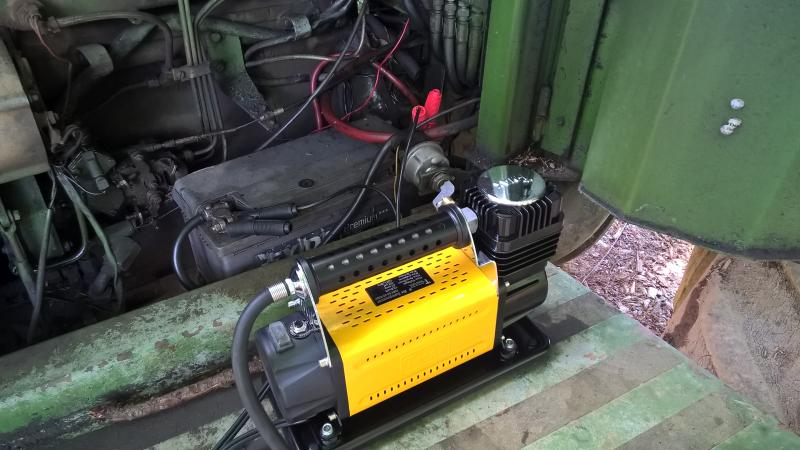 12v Air Compressor - well impressed.