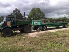 new flat bed trailer
