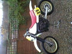 my old school 1982 YZ 250 j