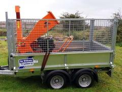Ifor Williams LM85 and Rock Machinery Venom 13hp Chipper