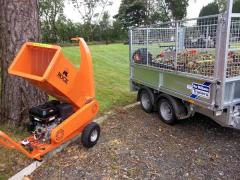 Venom 13hp Chjipper, Ifor Williams LM85.