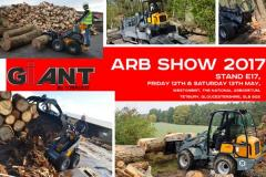 Tobroco Giant UK exhibit at The Arb Show 2017