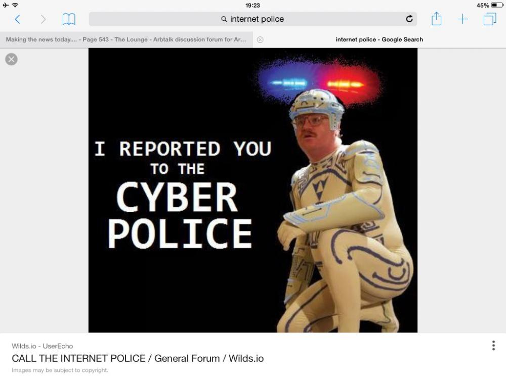 policing the internet Are law enforcement officers invading our privacy and bending the rules when they take to the internet to fight crime.