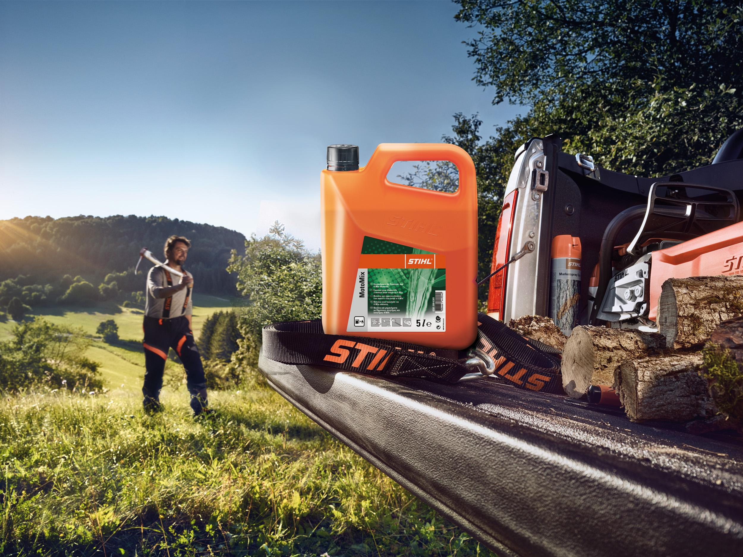 Stihl Motomix - Fuelling Enhanced Performance