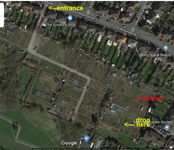 Allotment Plot - Braunstone Town